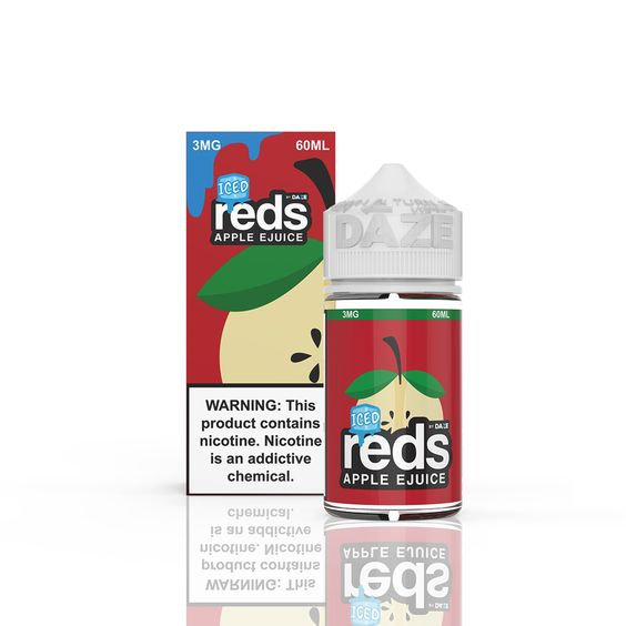 REDS APPLE EJUICE ICED (60ML)